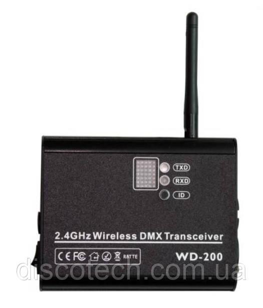 2.4G Беспроводной DMX приемник/передатчик WD-200