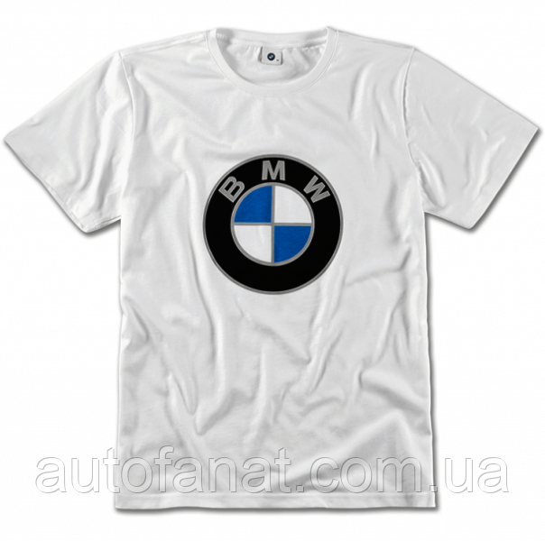 Оригинальная футболка унисекс BMW T-shirt, Color Logo, Unisex, White (80142463166)