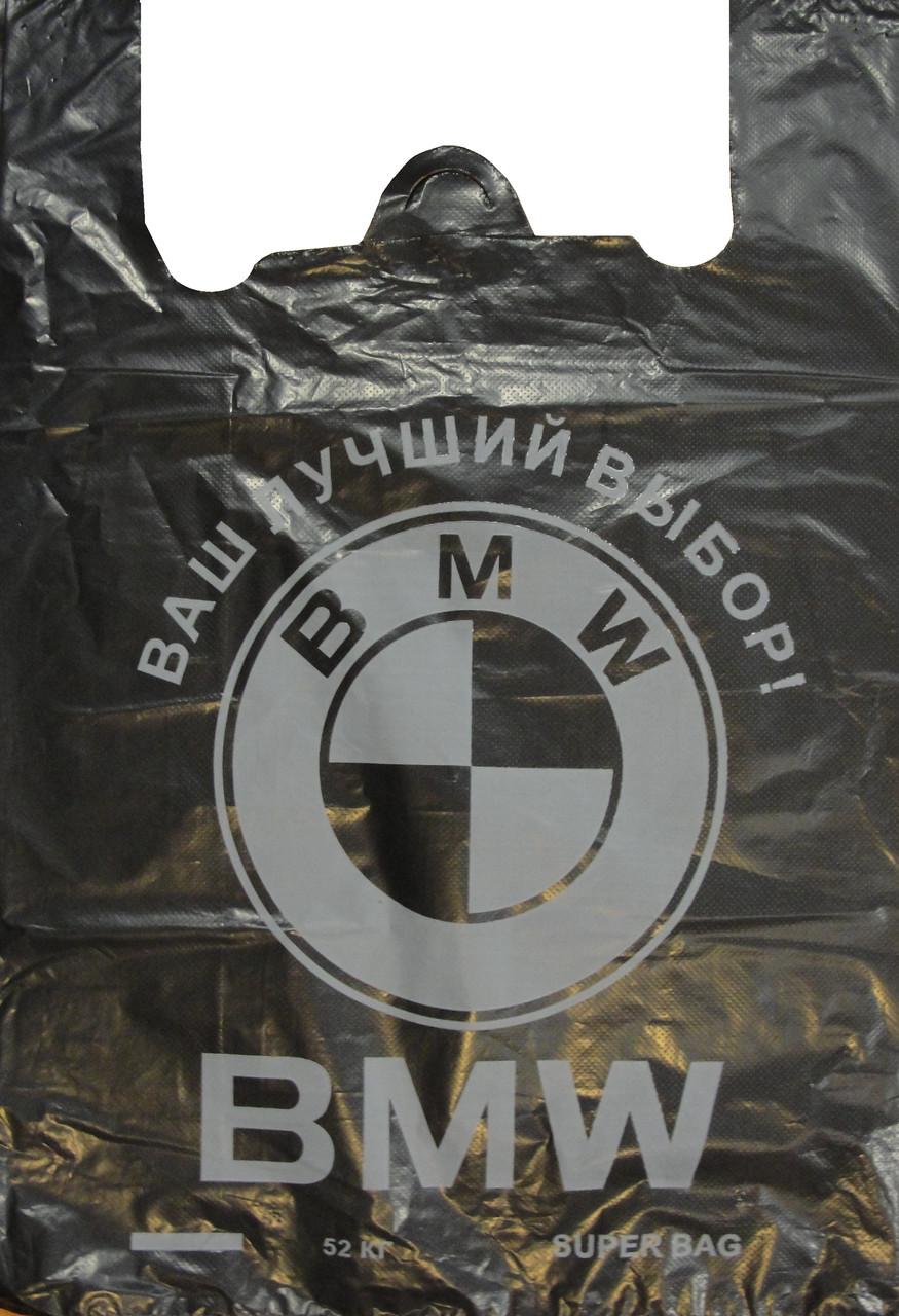 Пакет майка BMW LD 38*56 черный