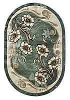 Ковер Green Carpet Meral 0.80x1.50 зеленый овальный 168
