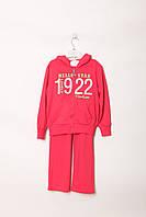 4589172e Спортивный костюм Happy House 8 year (123-128 cm) Малиновый,серый (