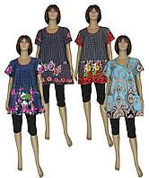 АКЦИЯ 1+1! Теперь еще больший выбор ярких женских летних туник в размерах от 52 по 66 от ТМ УКРТРИКОТАЖ!