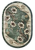 Ковер Green Carpet Meral 1.25х3.00 зеленый овальный 168