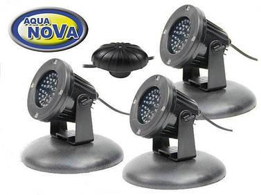 Светильники для пруда AquaNova NPL2 - LED3 сумеречный датчик