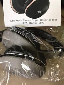 Наушники беспроводные FM радио Bluetooth складные 951