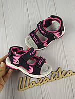 Босоножки детские на девочку сандали 26 Том.М ( 17 см), фото 1
