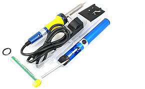 Набір для пайки ZD-920B (паяльник, підставка, припій, оловоотсос), фото 2