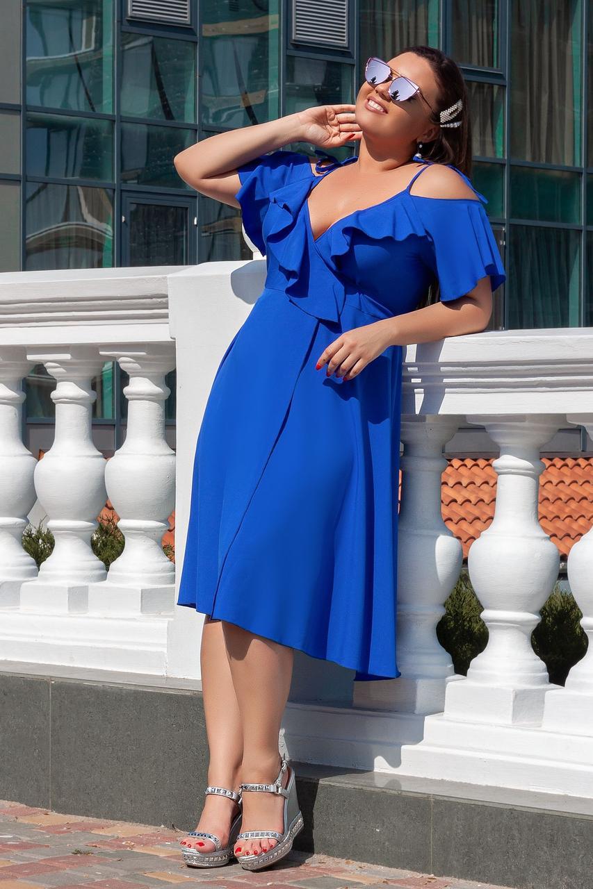 Модное летнее платье 04054
