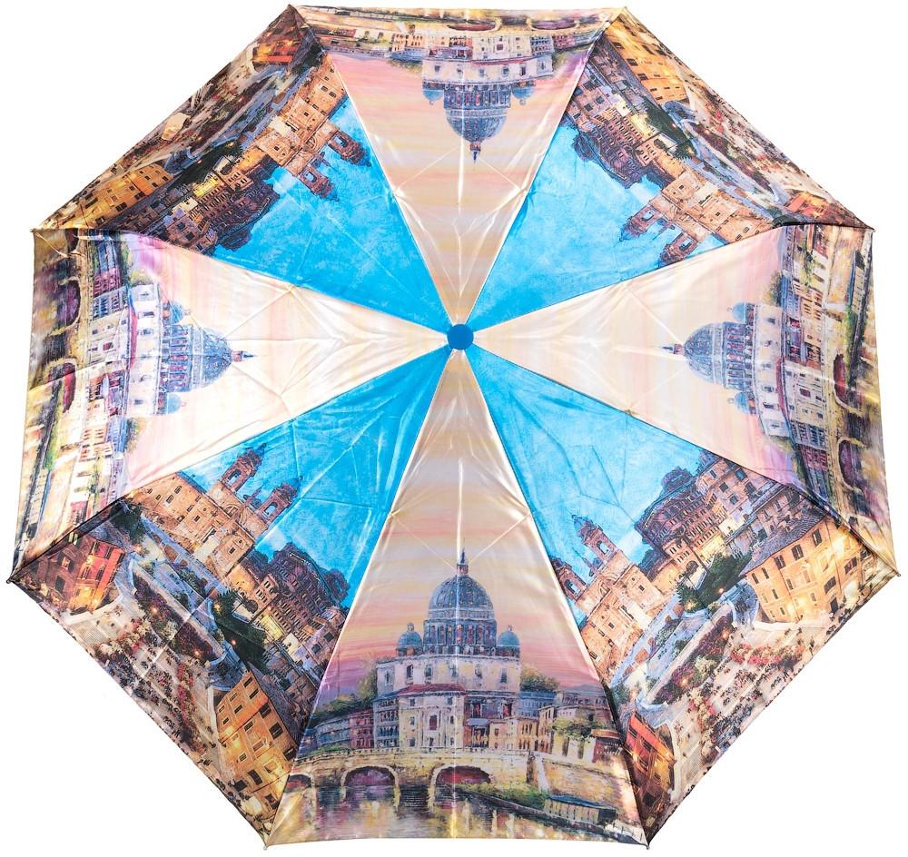 Зонт полуавтомат  MAGIC RAIN ZMR4333-10, женский, из полиэстера