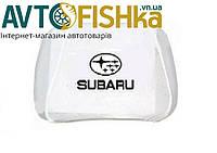 Чохли на підголовники Subaru  БІЛІ, фото 1