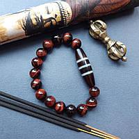 Полосатая  Дзи Тибет/комфортная жизнь