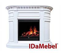 Idamebel Carlyle White электрокамины с 3d пламенем