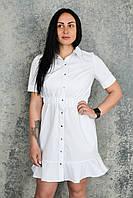 Халат-платье H007, белый, фото 1