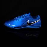 Сороконіжки Nike Phantom (сині), фото 4