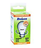 Лампа светодиодная DELUX BL50P 7 Вт 6500K 220В E27 холодный белый, фото 3
