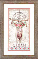 """Набор для вышивания крестом """"Цветочный ловец снов//Floral Dream Catcher"""" DIMENSIONS"""