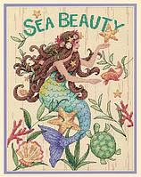 """Набор для вышивания крестом """"Морская красота//Sea Beauty"""" DIMENSIONS"""