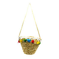 Плетеная детская сумка Children