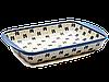 Керамическая форма для выпечки и запекания прямоугольная малая 29,5 х 20,5 с ушками Rustic style