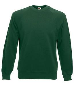 Мужской реглан S, 38 Темно-Зеленый