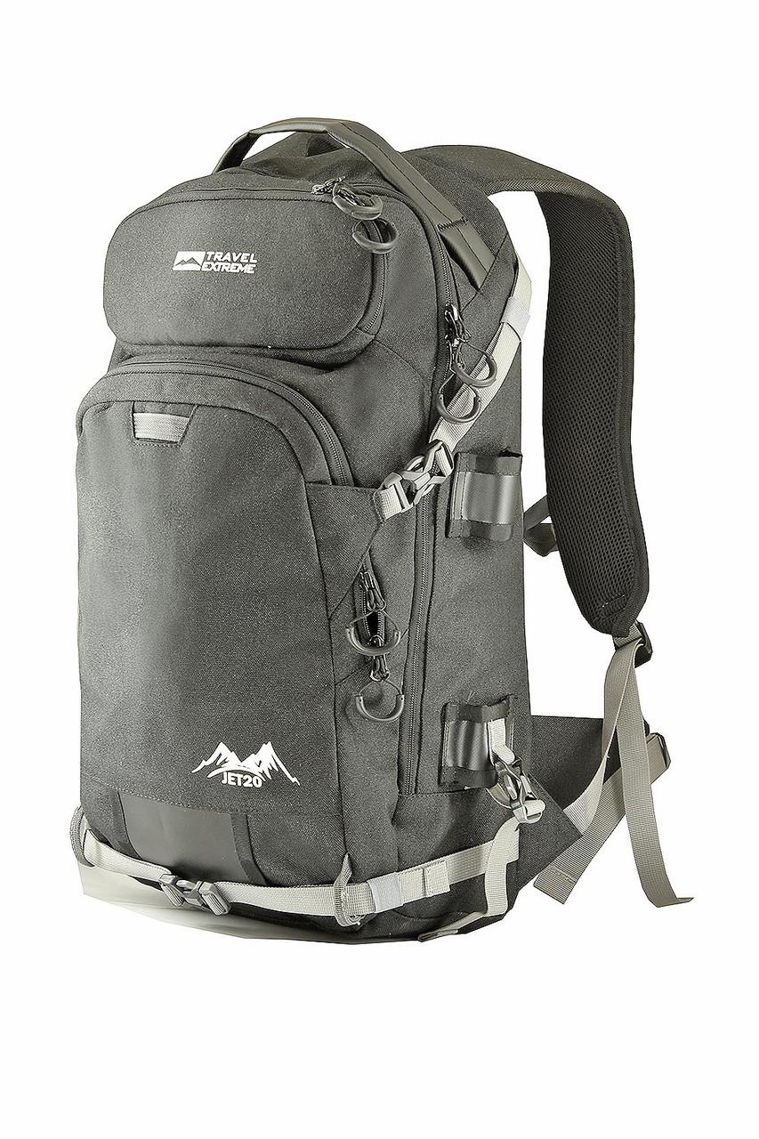 Рюкзак JET 24L чёрный Travel Extreme