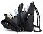Швейцарский городской рюкзак SwissGear 8810 с USB, AUX, дождевиком и часами, фото 5