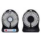 Мини вентилятор mini fan с аккумулятором (Синий), фото 3