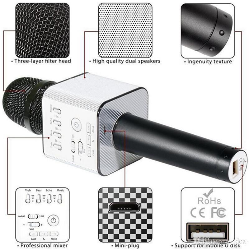 Беспроводной караоке микрофон MicGeek Q-9 Wireless BLACK