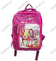 Рюкзак школьный детский Монстер Хай (Monster High) - Розовый - MeShock (Bagland) - 11270, фото 1