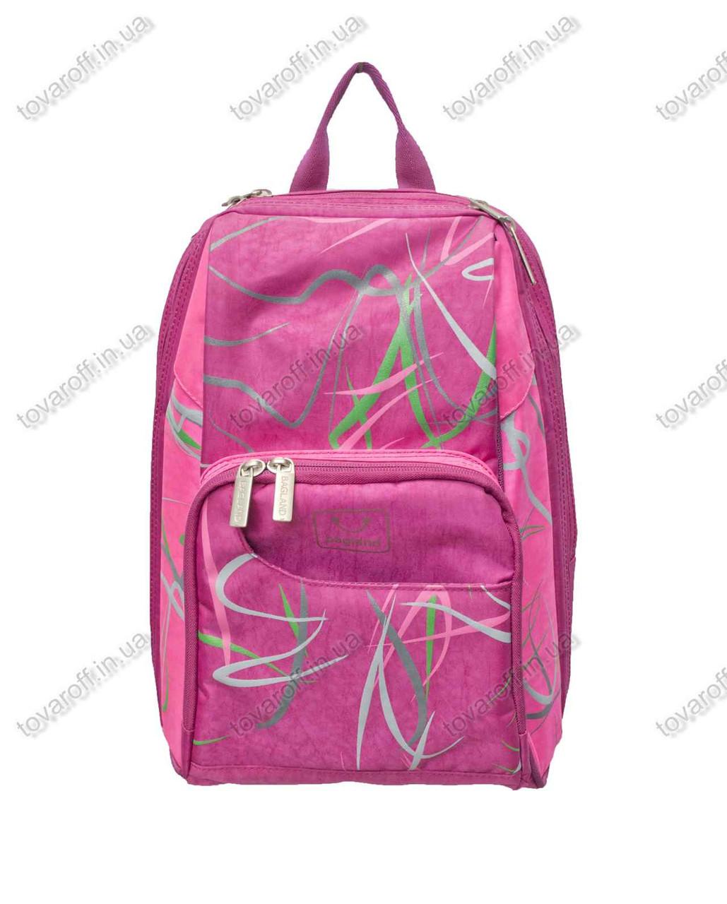 602bfe5d8f00 Оптом рюкзак школьный/городской - Розовый - MeShock (Bagland) - 14970