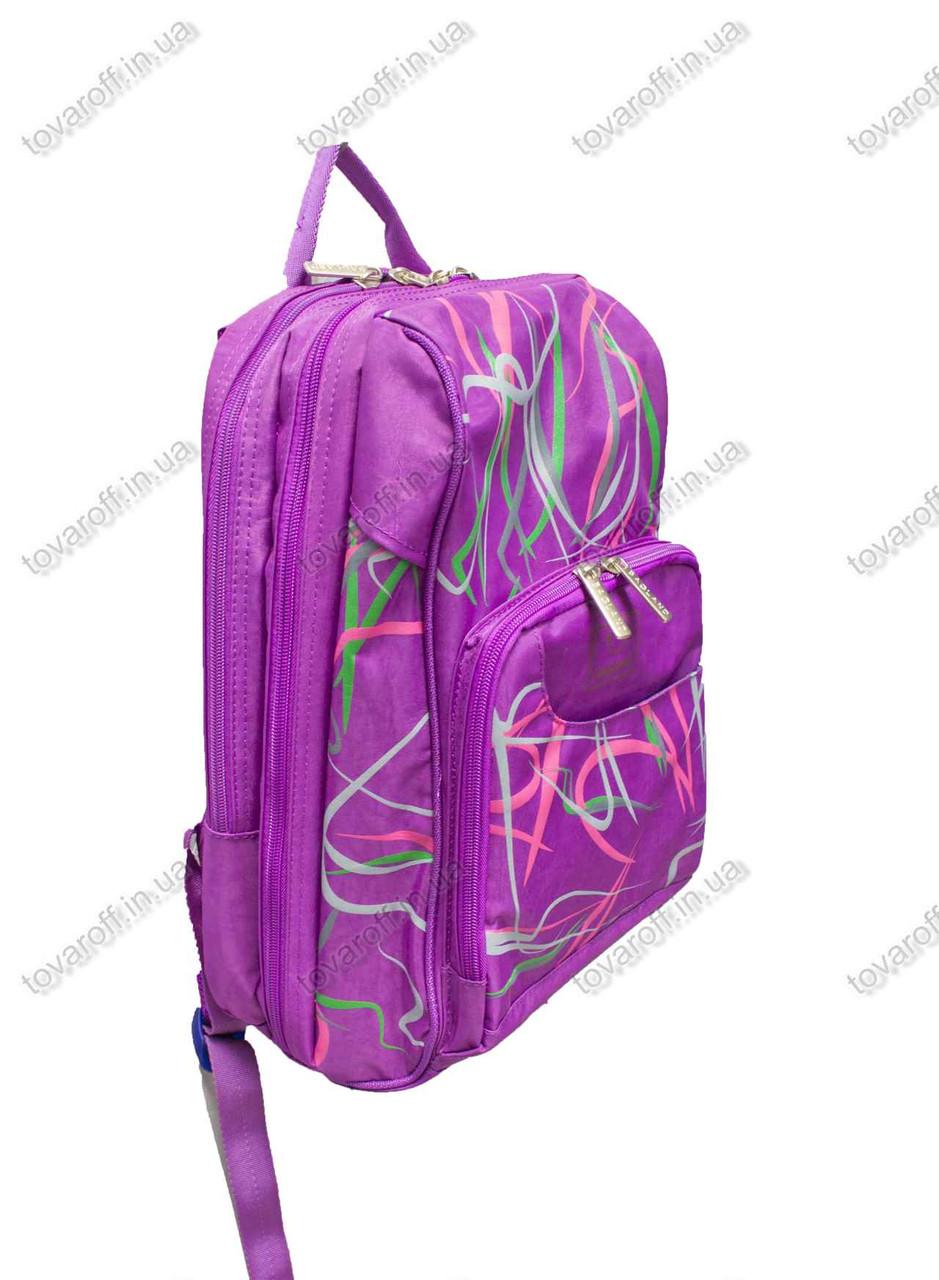 Оптом рюкзак школьный/городской - Фиолетовый - MeShock (Bagland) - 14970