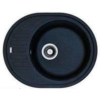 Мийка кухонна гранітна ADAMANT OVUM 620х500х200 (колір в асортименті)