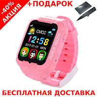 Умные смарт часы детские телефон с GPS Smart Baby Watch V7K - K3 + нож-визитка, фото 1