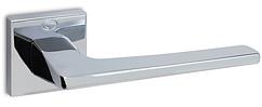 Ручка Convex 1495 квадратная розета, Полированный хром
