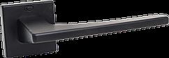 Ручка Convex 1495 квадратная розета, Черный мат
