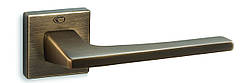 Ручка Convex 1495 квадратная розета, Античная бронза