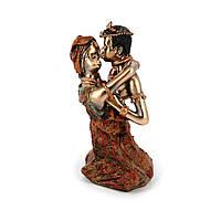 Статуэтка африканской пары женщины и мужчины S6826