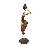 Статуэтка негритянка с кувшином на голове S7597