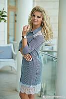 Женское платье с хлопка ТМ Bisou 7765