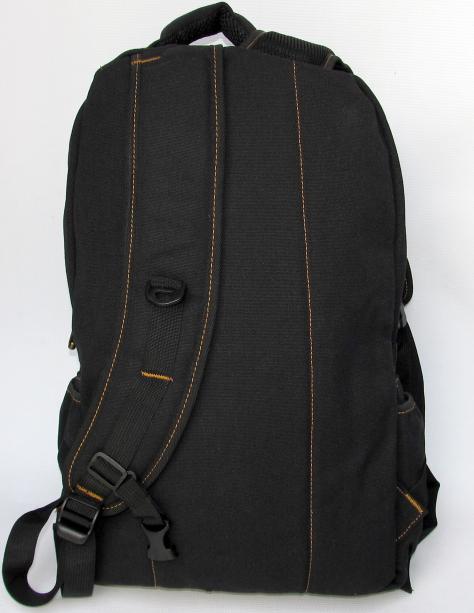 Рюкзак GOLD BE 98209 брезентовый чёрный