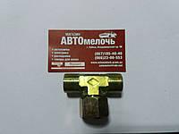 Тройник резьбовой металлический М22х1.5 наружная- М22х1.5 гайка внутренняя
