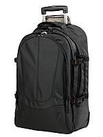 Рюкзак на колесах Airtex 560 большой 70x45x20 см 63 л Черный
