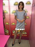 Женское платье с хлопка ТМ Bisou 7767