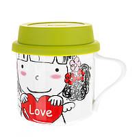 Чашка с крышкой Unicorn Studio 300 мл 002RA-G