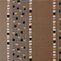 Шторы на тесьме, арт. Жаккард Металлик B96 Бронза 140х270см,  2 шт в комплекте