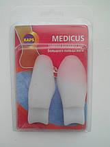 Гелевые накладки MEDICUS для коррекции и комфорта больших пальцев стопы, фото 2