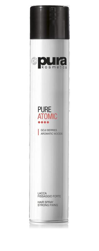 Лак для волос сильной фиксации 500 мл Pure  Atomic