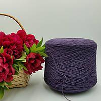 Итальянская пряжа EYRE Lanerossi (шерсть ягненка 80%, полиамид 20%, 750 м/100 гр. фиолетовый)