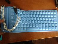 Клавиатура гибкая силиконовая Flexible keyboard, фото 1