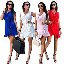 Женское летнее платье сарафан с воланами sh-010 (42-50р, разные цвета), фото 3
